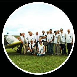 l'équipe de l'aéroclub